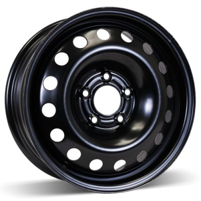 RSSW Steel Wheel Black wheel (16X6.5, 5x115, 70.3, 40 offset)