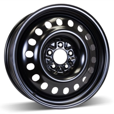 RSSW Steel Wheel Black wheel (18X6.5, 5x114.3, 67.1, 48 offset)