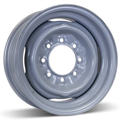 RSSW Steel Wheel Silver wheel (16X6, 8x165.1, 125, 12 offset)