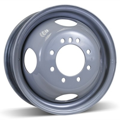 RSSW Steel Wheel Grey wheel (16X6, 8x165.1, 125, 125.5 offset)
