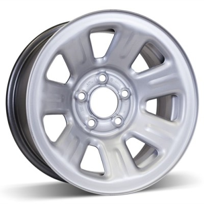 RSSW Steel Wheel Silver wheel (15X7, 5x114.3, 70.5, 12 offset)