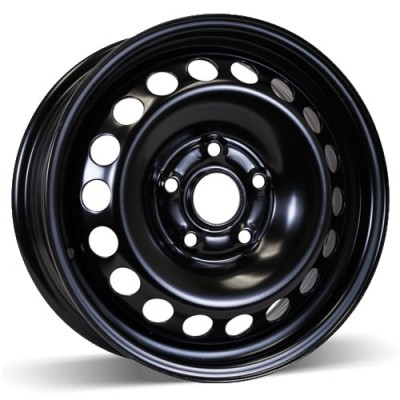 RSSW Steel Wheel Black wheel (15X6, 5x112, 66.6, 47 offset)