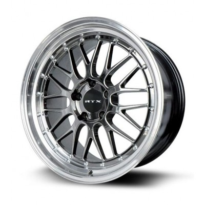 RTX Wheels Amaze II Chrome Black wheel (18X8.5, 5x114.3, 73.1, 38 offset)