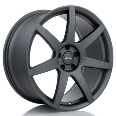 RTX Wheels Apache Matte Gun Metal wheel (20X10, 5x114.3, 70.6, 40 offset)