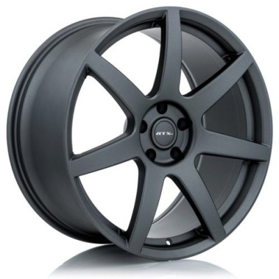 RTX Wheels Apache Dark Matte Grey wheel (20X10, 5x114.3, 70.6, 40 offset)