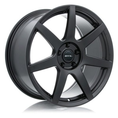 RTX Wheels Apache Satin Black wheel (19X10, 5x114.3, 70.6, 40 offset)