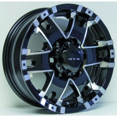 RTX Wheels Axis Black Machine Lip wheel (15X6, 6x139.7, 108, 0 offset)