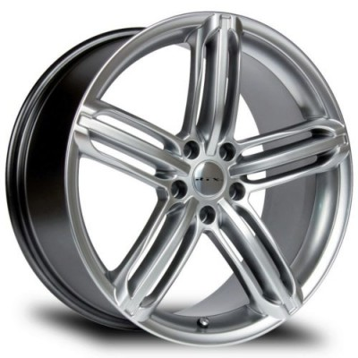 RTX Wheels Bavaria II Hyper Silver wheel (17X7.5, 5x112, 66.6, 35 offset)
