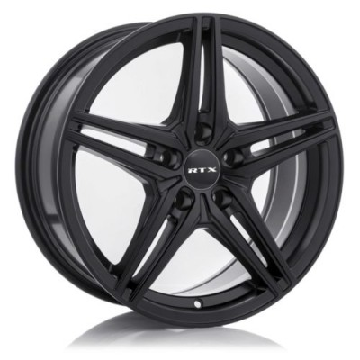 RTX Wheels Bern Satin Black wheel (15X6.5, 5x114.3, 73.1, 40 offset)