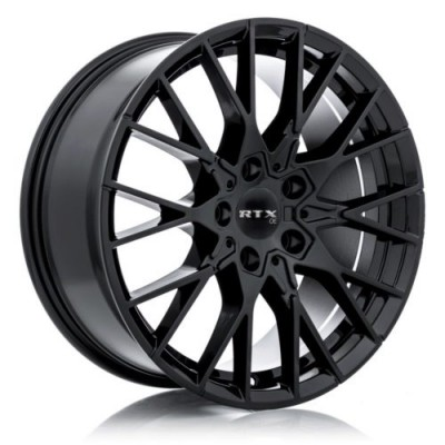 RTX Wheels Beyreuth Gloss Black wheel (18X8, 5x120, 72.6, 38 offset)
