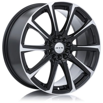 RTX Wheels Blade II Machine Black wheel (14X6, 4x100, 73.1, 38 offset)