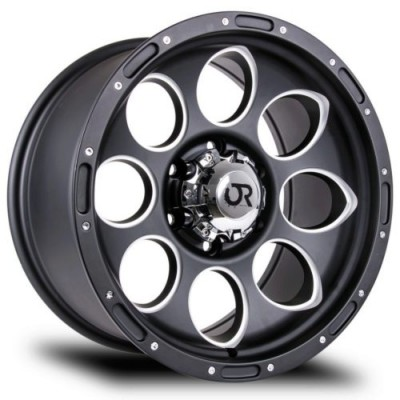 RTX Wheels Blast II Machine Black wheel (18X9, 5x127, 71.5, 15 offset)