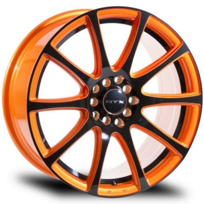 RTX Wheels Blaze Orange wheel (15X6.5, 5x100, 73.1, 40 offset)