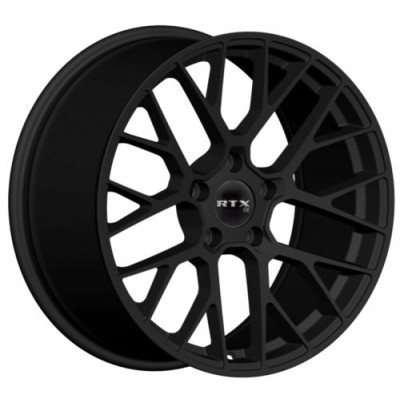 RTX Wheels Hausen Matte Black wheel | 20X9, 5x112, 66.6, 25 offset