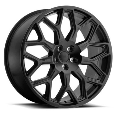 RTX Wheels KING Matte Black wheel (20X9.5, 5x120, 72.6, 32 offset)