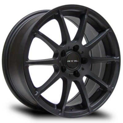 RTX Wheels Munich Matte Black wheel (18X9.5, 5x112, 66.6, 45 offset)