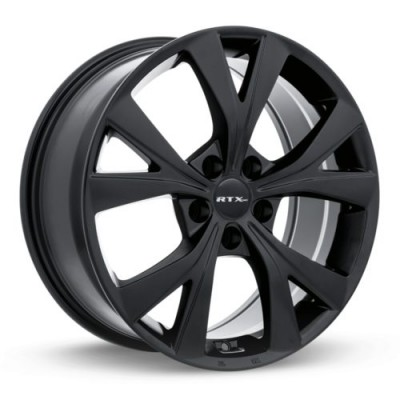RTX Wheels Najin Satin Black wheel | 18X8, 5x114.3, 67.1, 40 offset