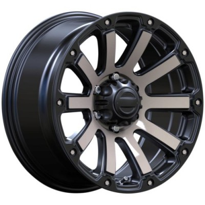RTX Wheels Panzer Machine Black wheel (17X9, 5x127, 71.5, -10 offset)