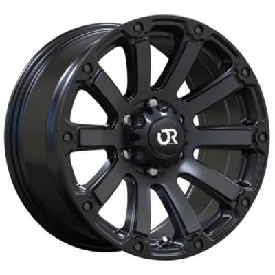RTX Wheels Panzer Satin Black wheel (17X9, 5x127, 71.5, -10 offset)
