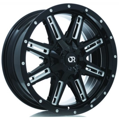 RTX Wheels Ravine Black wheel (18X9, 8x165.1, 125, 10 offset)