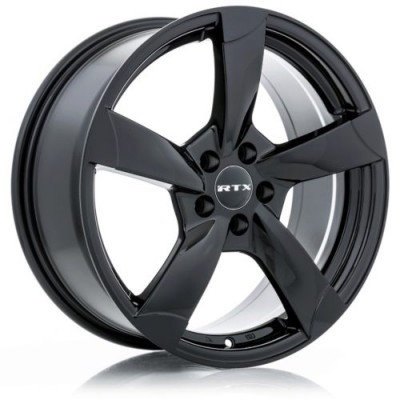 RTX Wheels RS2 Black wheel (16X7, 5x112, 57.1, 45 offset)