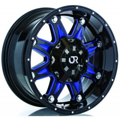 RTX Wheels Spine Black wheel (20X9, 8x180, 125, 15 offset)