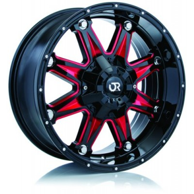 RTX Wheels Spine Black wheel (18X9, 5x150, 110, 15 offset)