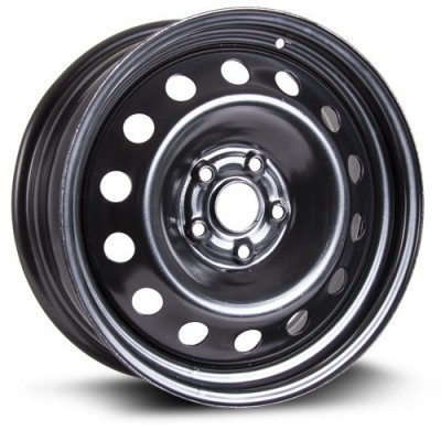 RTX Wheels Steel Wheel Black wheel (13X5, 4x100, 56.1, 40 offset)