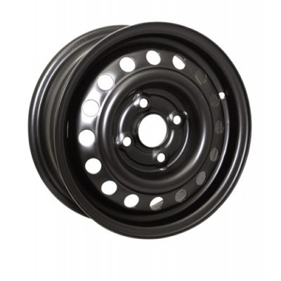 RTX Wheels Steel Wheel Black wheel (15X6, 4x100, 59.1, 45 offset)