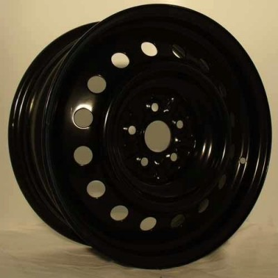 RTX Wheels Steel Wheel Black wheel | 16X6.5, 5x100, 54.1, 40 offset