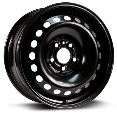 RTX Wheels Steel Wheel Black wheel (16X7.5, 5x110, 65.1, 39 offset)
