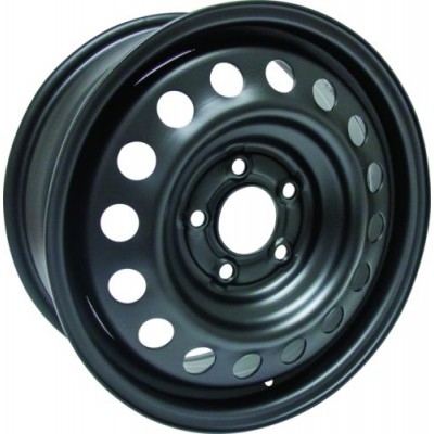 RTX Wheels Steel Wheel Black wheel (16X6.5, 5x115, 70.3, 52 offset)