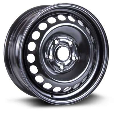 RTX Wheels Steel Wheel Black wheel (15X6, 5x112, 57.1, 47 offset)