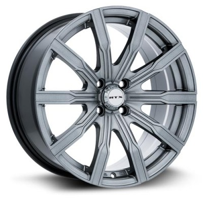 RTX Wheels Vane  Gun Metal wheel (17X7.5, 5x114.3, 73, 40 offset)