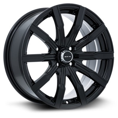 RTX Wheels Vane  Black wheel (16X7, 5x114.3, 73.1, 40 offset)