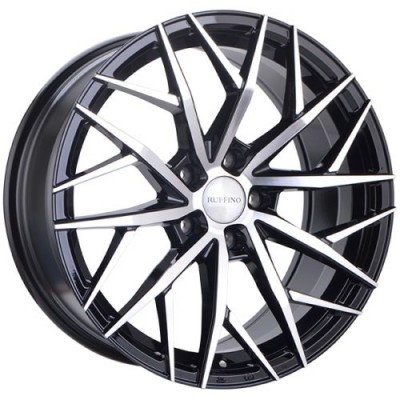 Ruffino Wheels Atrax Gloss Black Diamond Cut wheel (16X7.0, 5x112, 57.1, 40 offset)