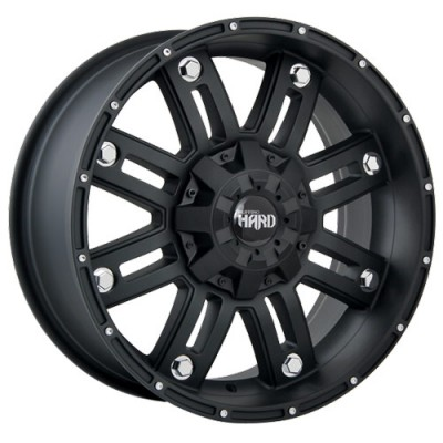 Ruffino Wheels Traxx Matte Black wheel (20X9, 8x165.1, 125.2, 12 offset)