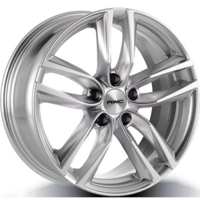 RWC AC367 / HO367 Silver wheel (17X7.5, 5x114.3, 64.1, 45 offset)