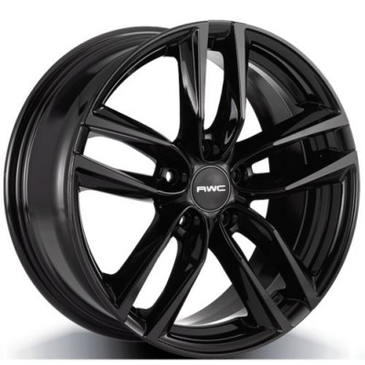 RWC AC367 / HO367 Black wheel (17X7.5, 5x114.3, 64.1, 45 offset)