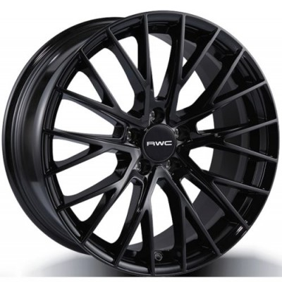 Rwc AD1009 Black wheel | 17X7, 5x112, 57.1, 42 offset
