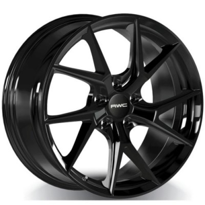 RWC AD1012 / VW1012 Black wheel (17X7.5, 5x112, 57.1, 42 offset)