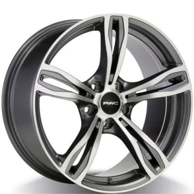 RWC BM87 Machine Grey wheel (17X8.0, 5x120, 72.6, 34 offset)