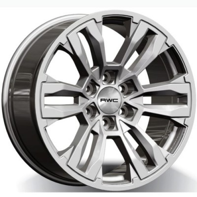 RWC GM440 Silver wheel (18X8.0, 6x139.7, 78.1, 15 offset)