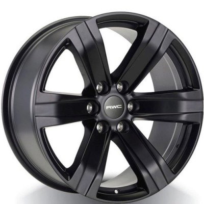 Rwc GM600 Black wheel (18X8, 6x139.7, 78.1, 20 offset)