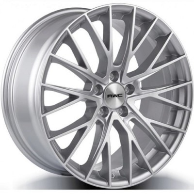 Rwc MB1009 Silver wheel (17X8, 5x112, 66.6, 45 offset)