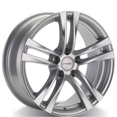 Rwc NI40 Silver wheel (16X7, 5x114.3, 66.1, 40 offset)