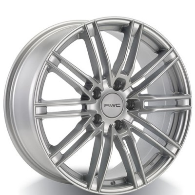 Rwc PC90 Silver wheel (20X9, 5x130, 71.6, 57 offset)