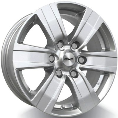 RWC TO640 / LX640 Hyper Silver wheel (17X7.5, 6x139.7, 106.1, 25 offset)