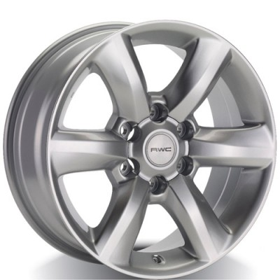 Rwc TO64 Silver wheel (18X8, 6x139.7, 106.1, 20 offset)