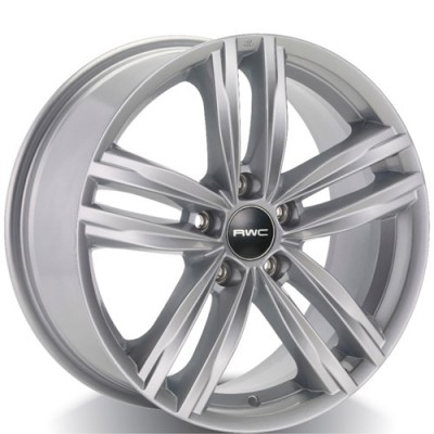 Rwc VW39 Silver wheel (17X7.5, 5x112, 57.1, 45 offset)